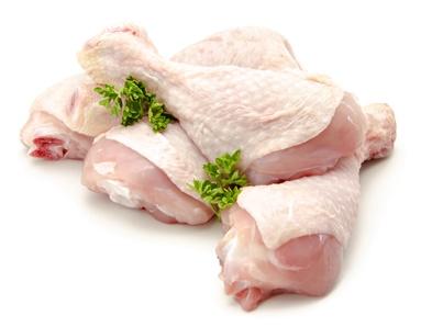 Carne de pollo cruda